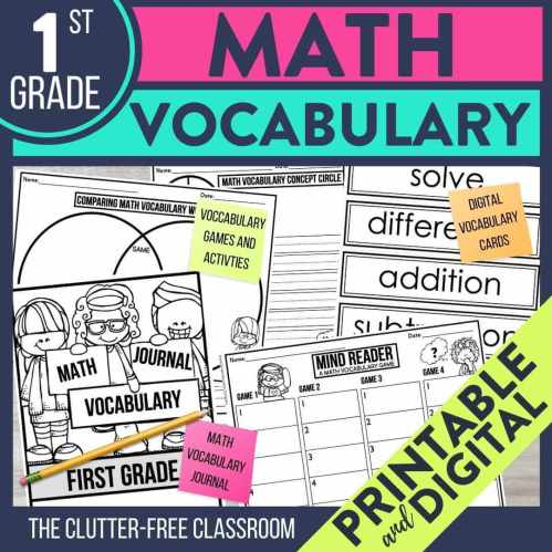 small resolution of Using Math Walls and Other Tools to Teach Elementary Vocabulary   Jodi  Durgin Education Co.