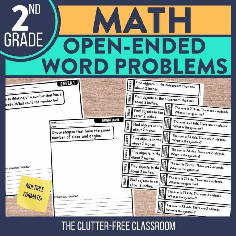 medium resolution of Second Grade Math Activities   Jodi Durgin Education Co.