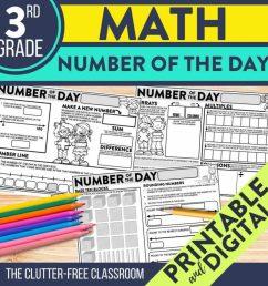 Third Grade Math Activities   Clutter-Free Classroom   by Jodi Durgin [ 1024 x 1024 Pixel ]