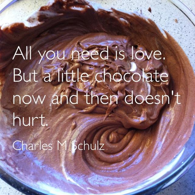 on chocolate, baths, and capacity