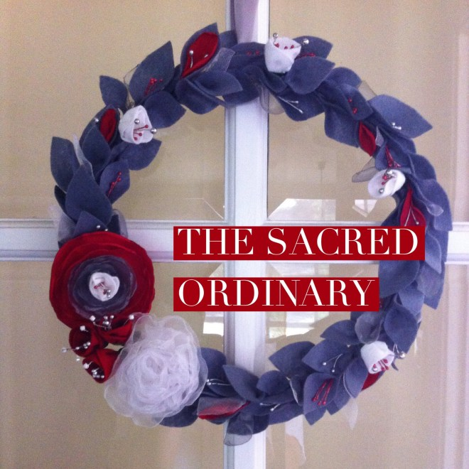 sacred ordinary