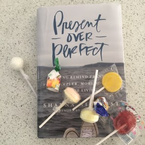Present over Perfect book club: Throwing Candy