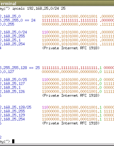 Have  look in the archives for new version with capability to deaggregate network ranges also ip calculator subnetting rh jodies