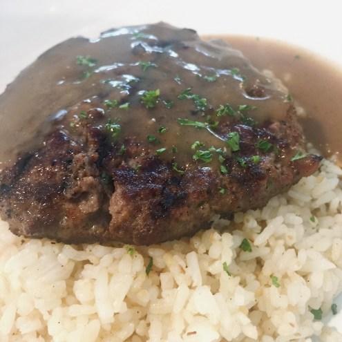 Gourmet Burger Steak