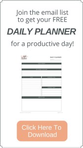 Daily Planner PDF download