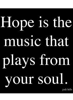 HOPE IS MUSIC