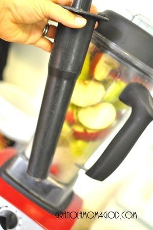 tamper for applesauce vitamix