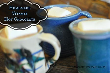 vitamix hot chocolate