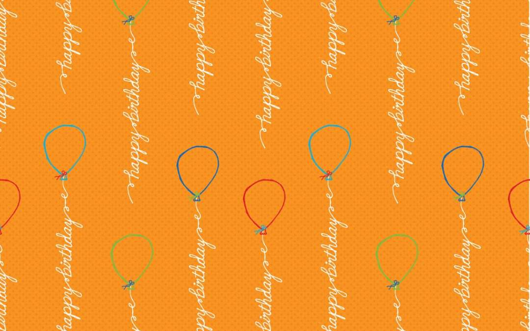 Surtex 2012 Sneak Peak – Birthday Balloon Doodle Collection