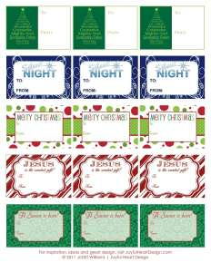Chrismtas Gift Tags