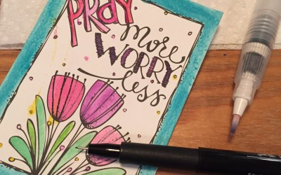 ADORNit Coloring Contest – my entry – Prayer journals