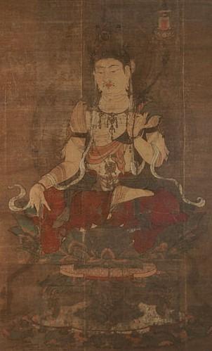 Le bodhisattva Maitreya (Miroku Bosatsu - 弥勒菩薩), le futur Bouddha