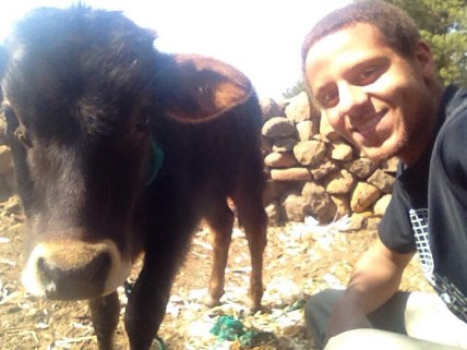 That one time when I used to have a pet cow named Douglas