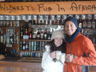 Sani Pass is home to the highest pub in Africa