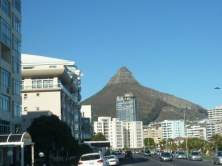 Lion's Head can be seen from anywhere in the city. Unfortunately we weren't able to hike it because of the rain.