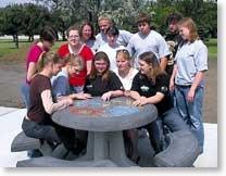 West Monona students