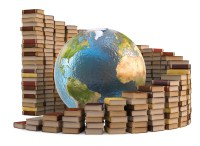 Globe with Books