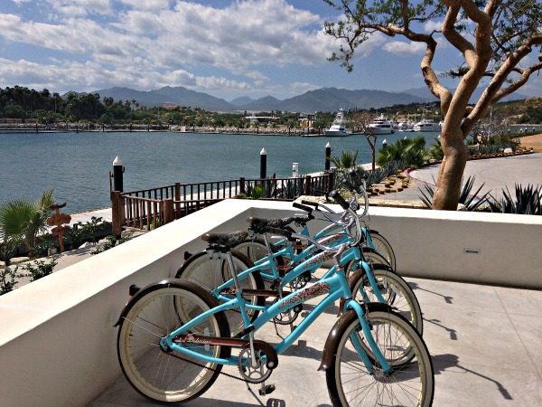 City bikes by the sea