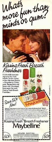 Kissing Fresh breath spray