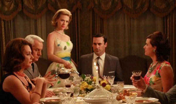 Men com dinner party