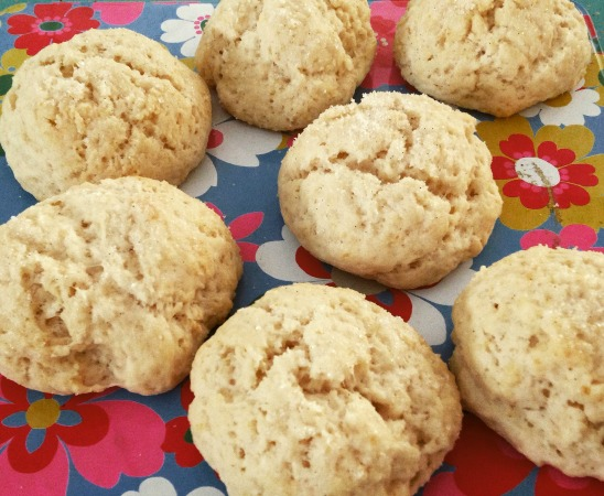 cream drop scones