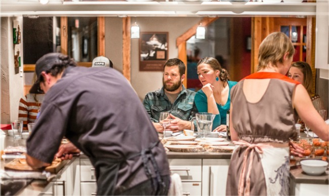 paintbox lodge cooking class
