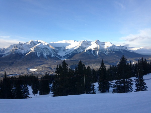 alberta mountains winter
