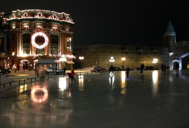 outdoor ice skating quebec