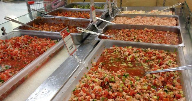 ceviche counter