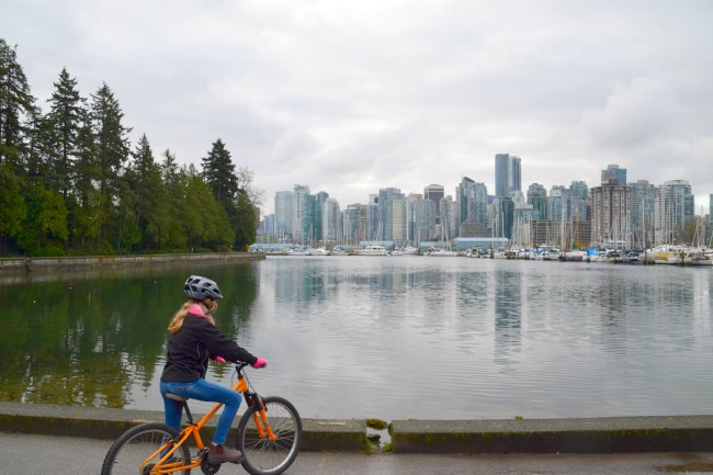family fun in Stanley park