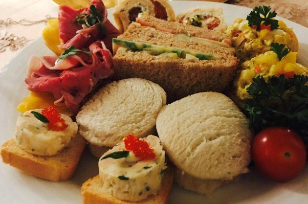 royal tea sandwiches