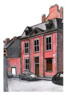 Gebäude-Farbe