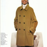 Jody Watley Classic Photo. Saks Fifth Avenue Catalog '96