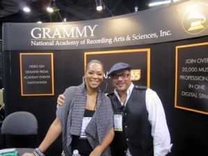With Howard in 2011 when I was on Grammy Board LA Chapter