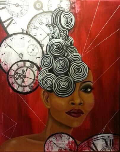 Canvas. Jody Watley Inspired by Antwanyce Richardson