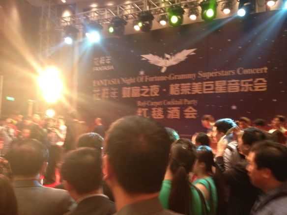 Red Carpet Mayhem. Chengdu China Global Forum Invited Guests and Night of Fortune  Grammy All-Stars Reception