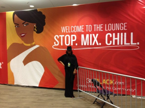 Inside Superlounge at pre-soundcheck Essence Fest. All Rights Reserved Jody Watley Music (c) 2013