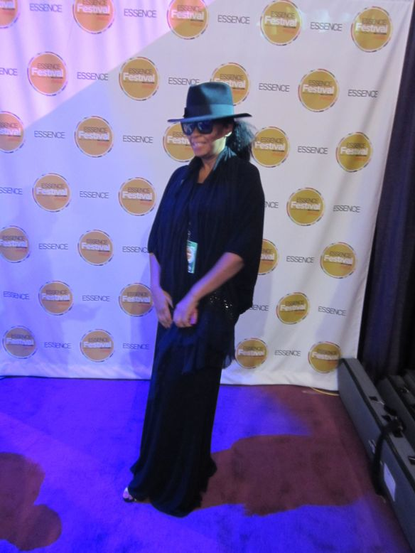 Jody Watley in VIP Green Room Convention Center Essence Festival. All Rights Reserved Jody Watley Music (c) 2013