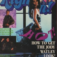 Classic Photo of the Day. The Debut Jody Watley Look.