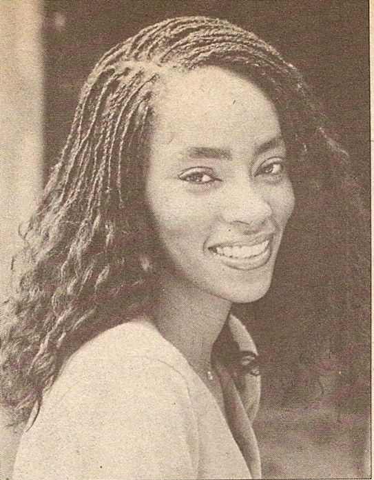 Jody Watley in Right On Magazine talking hair in 1979.