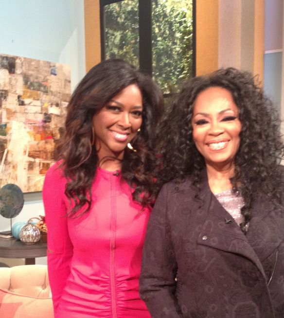 Photo () 2013 Jody Watley with Kenya Moore