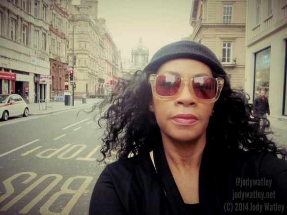 Seeing the sights. © 2014 Jody Watley