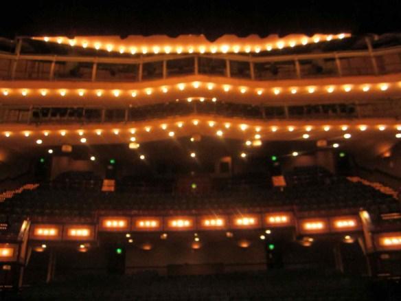 Rhyl Pavilion - gorgeous theater.  © 2014 Jody Watley Images