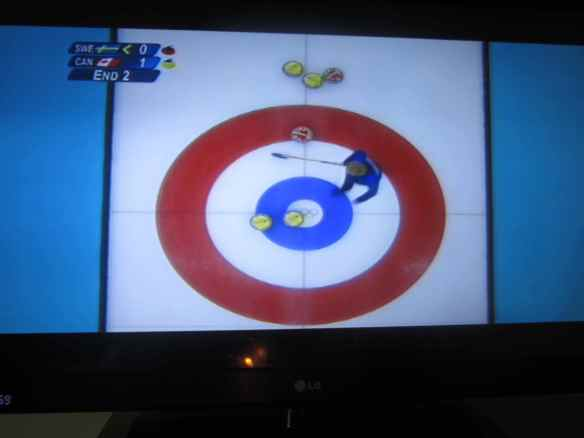 I'd never seen so much 'Curling' coverage - it's apparently huge in the UK, and seemed to be on each time I tuned in to catch the Winter Olympics.