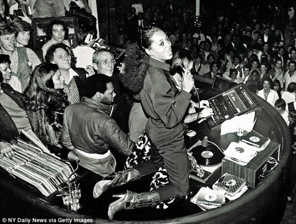 "Classic ""Nightlife"", Studio 54 style with Diana Ross."