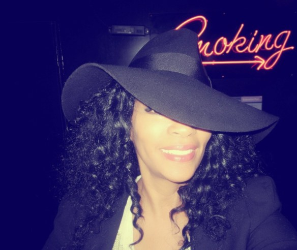 I love Giorgio's and a great hat! #selfie © 2014 Jody Watley