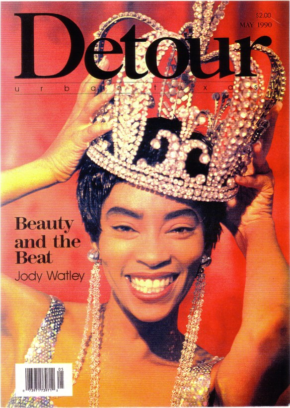 """Beauty and The Beat"" -Jody Watley Covers Detour Magazine 1989."