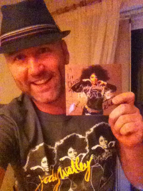 "Chris Keen, UK "" A total joy to receive my Paradise CD & T-shirt combo! LOVE the message throughout the new music, Jody....life is for living! ‪#‎LiveIt‬ ‪#‎EnjoyIt‬ ‪#‎BeFabulous‬ """