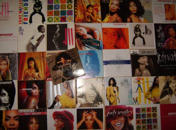 Steen Jensen , Denmark - adds PARADISE to his vast Jody Watley music collection!