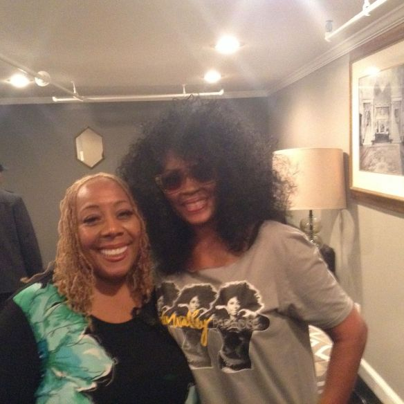 Patty Jackson of WDAS and Jody Watley Tower Theater 2014